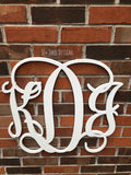 20 Inch Wooden Monogram Painted, Wooden Letters, Monogram, Home Decor, Nursery Letters, & More
