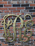 36 Inch Wooden Monogram Painted, Wooden Letters, Monogram, Home Decor, Nursery Letters, & More