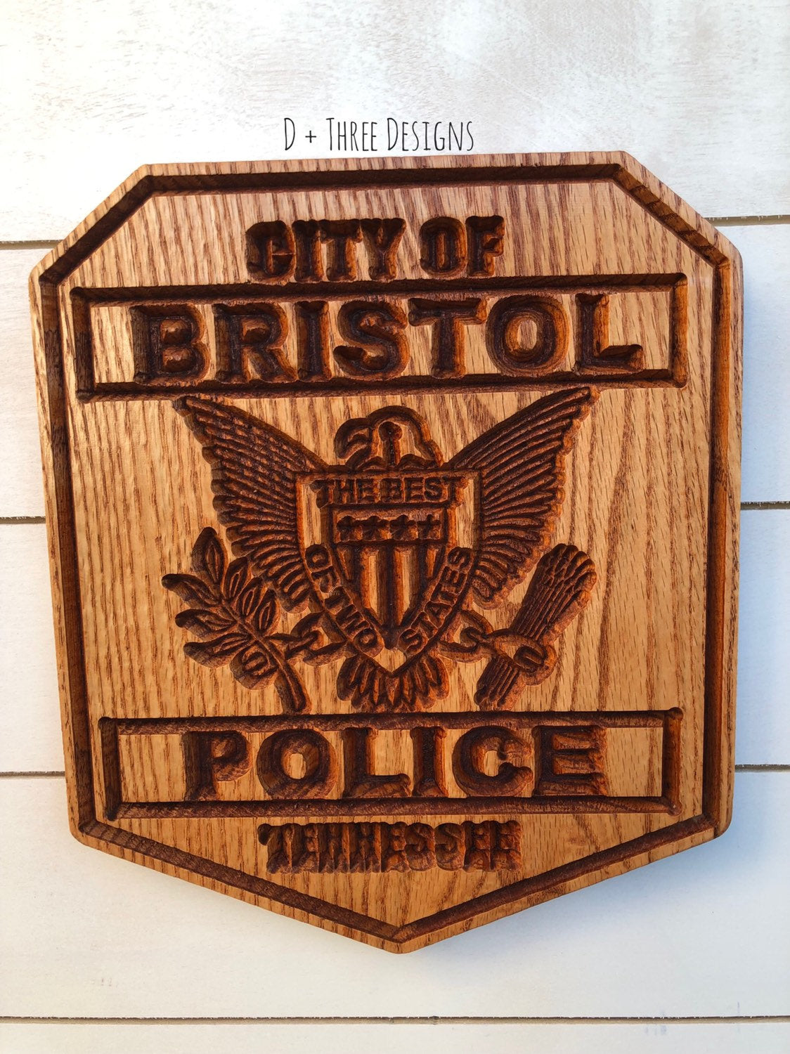 Personalized Police Badge or Patch // Police Retirement