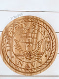 US Navy // Military Seal // Military Plaque