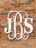 Large Wooden Wall Monogram // Wedding Mongram // Nursery Monogram