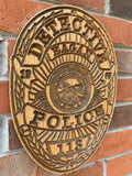 Eagan Police Badge // Personalized Police Badge or Patch // Police Retirement // Police Gift