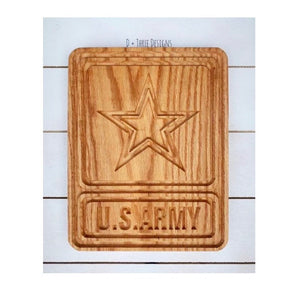 Military Seal // US Army // Army Strong // Military Plaque