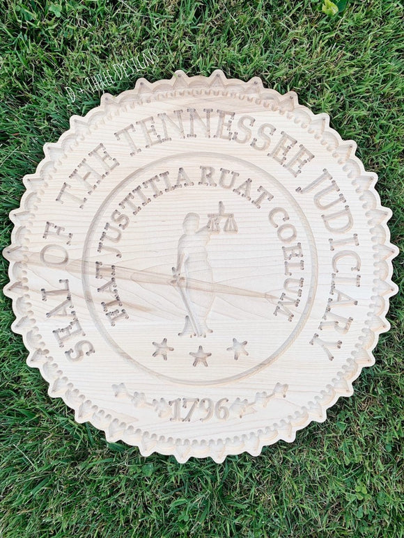 Tennessee State Judiciary Seal // Judge Gift // Tennessee State Seal