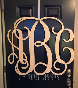 28 Inch Wooden Monogram, Letters, Home Decor, Weddings, Nursery Letters, Ready to be painted!