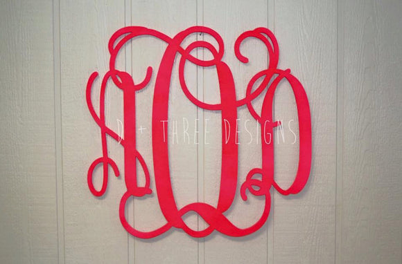 30 Inch Wooden Monogram Painted, Wooden Letters, Monogram, Home Decor, Nursery Letters, & More
