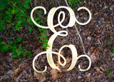 28 Inch Wooden Monogram Painted, Wooden Letters, Monogram, Home Decor, Nursery Letters, & More