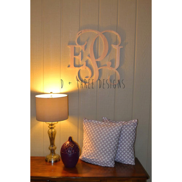 20 Inch Wooden Monogram, Letters, Home Decor, Weddings, Nursery Letters, Ready to be painted!