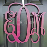 16 Inch Wooden Monogram Painted, Wooden Letters, Monogram, Home Decor, Nursery Letters, & More