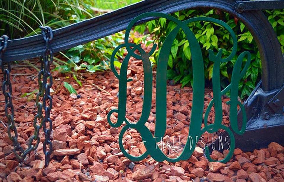 18 Inch Wooden Monogram Painted, Wooden Letters, Monogram, Home Decor, Nursery Letters, & More