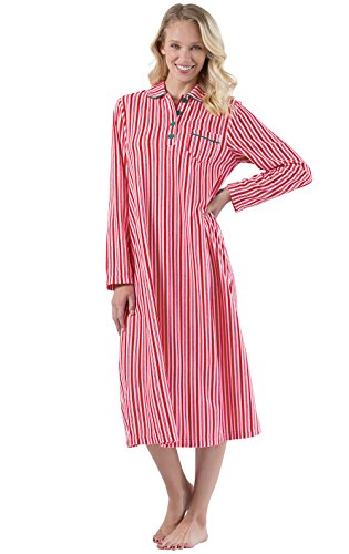 PajamaGram Classic Fleece Women's Nightgown