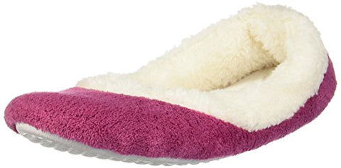 PajamaGram Women's Super Soft Fleece Slippers