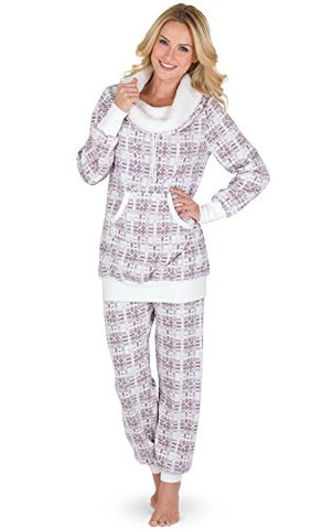 PajamaGram Cozy Womens Pajama Sets - Winter Pajamas for Women