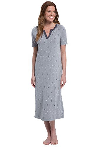PajamaGram Women's Pajamas Cap Sleeve Ladies Nightgown
