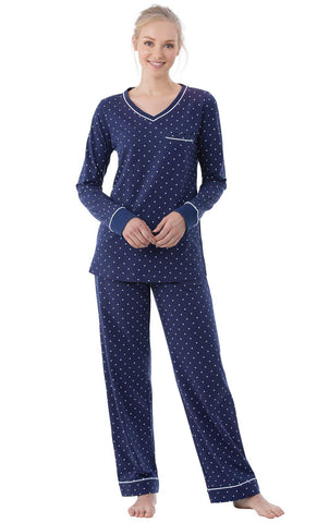 PajamaGram Cotton Pajamas for Women - Womens PJ Sets, Pullover