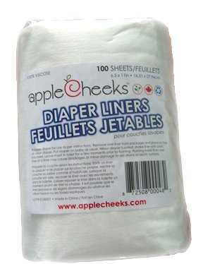 AppleCheeks Disposable Diaper Liners