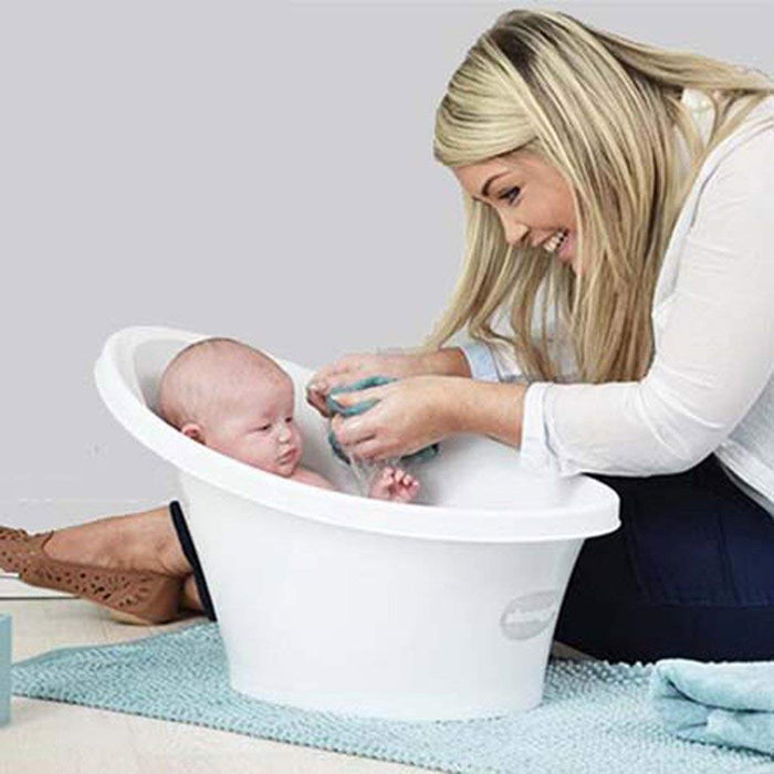 Shnuggle Baby Bath Tub - Compact Support Seat, Makes Bath Time Easy