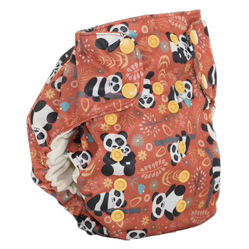 Too Smart Bottoms Diaper Cover -How we roll