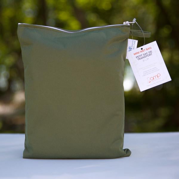 amp mini wet bag olive