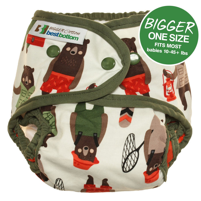 Bigger Best Bottom Cotton - Brawny Bears