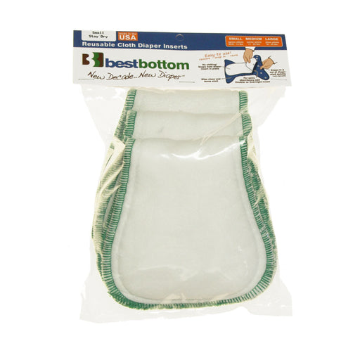 Best Bottom Insert - Hemp/Organic Cotton - Small - 2-Pack