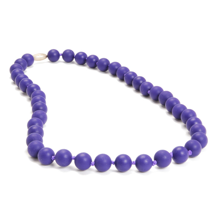 Chewbeads Jane Teething Necklace Classic Purple