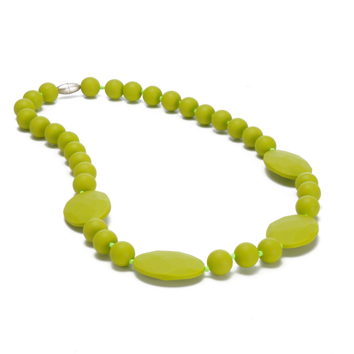 Perry Necklace - Chartreuse