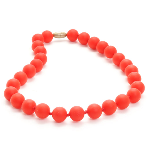 Jane Jr. Necklace - Cherry Red