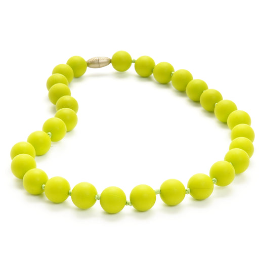 Jane Jr. Necklace - Chartreuse