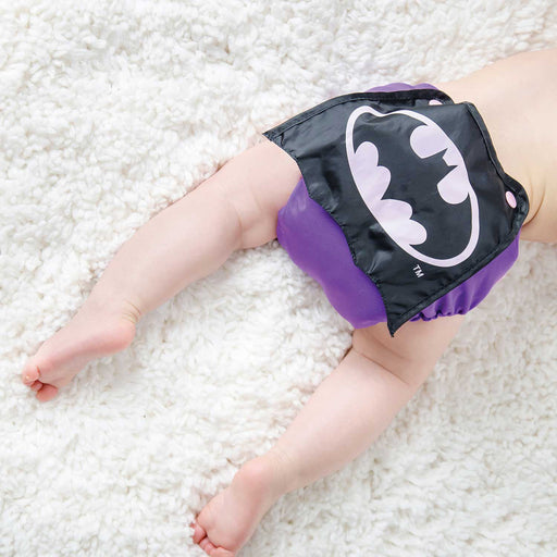 Caped DC Diaper - Batgirl
