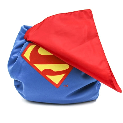 Caped DC Diapers - Superman