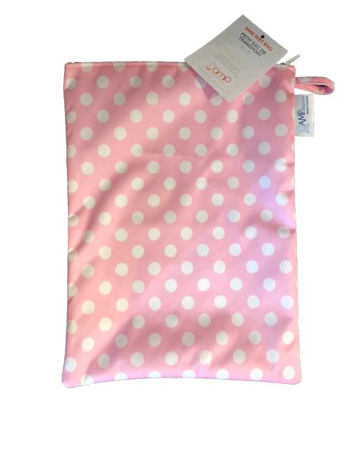 amp mini wet bag dotty