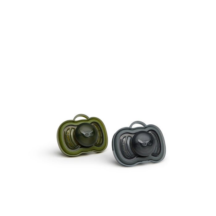 Herobility-HeroPacifier (2 Pack)- Black, Green