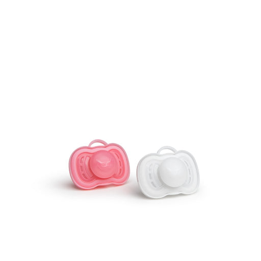 Herobility-HeroPacifier (2 Pack)- Pink,White