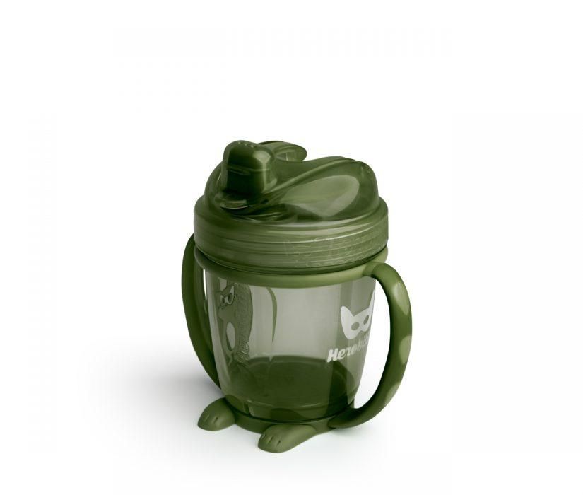 Herobility-HeroSippy 140ml/ 4.7oz - Army Green