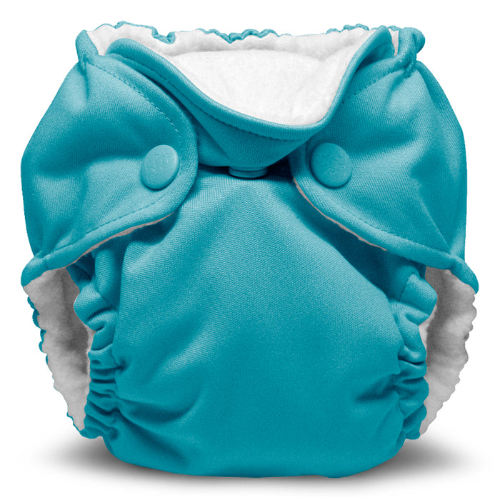 Lil Joey 2 Pack All In One Cloth Diaper, Aquarius-1