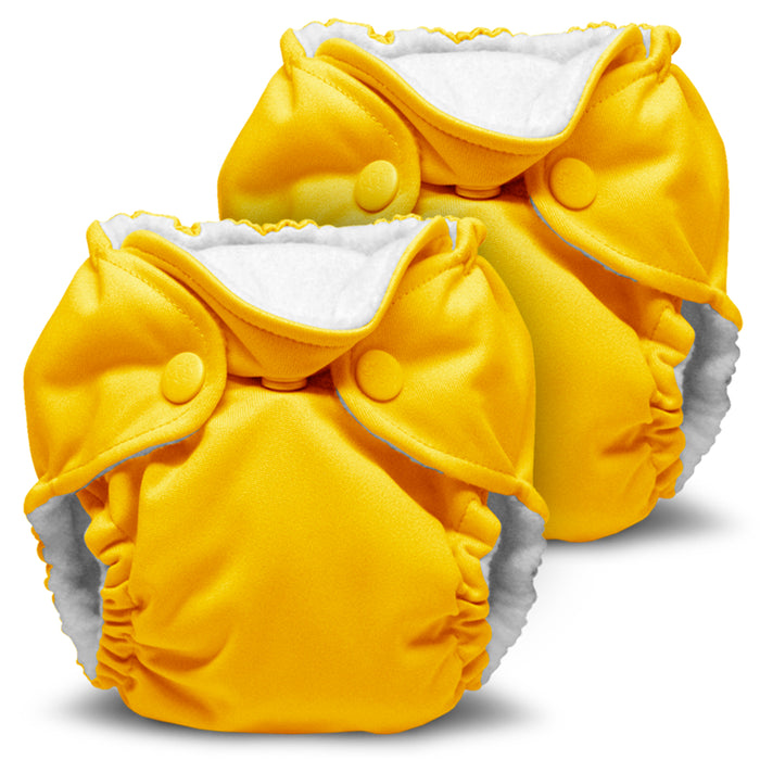 Lil Joey 2 Pack All In One Cloth Diaper, Dandelion