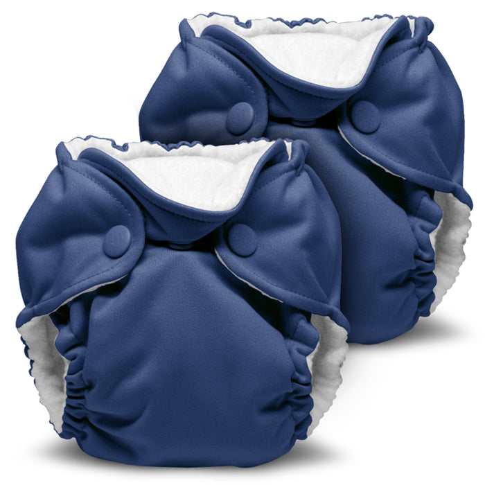 Lil Joey 2 Pack All In One Cloth Diaper, Nautical