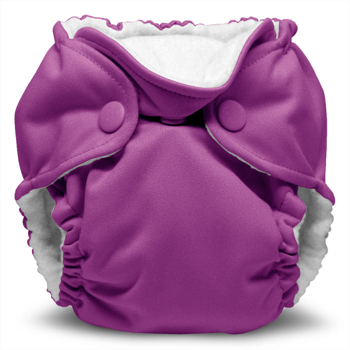 Lil Joey 2 Pack All In One Cloth Diaper, Orchid
