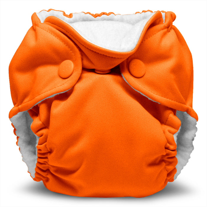Lil Joey 2 Pack All In One Cloth Diaper, Poppy-1