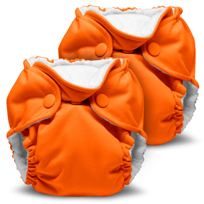 Lil Joey 2 Pack All In One Cloth Diaper, Poppy