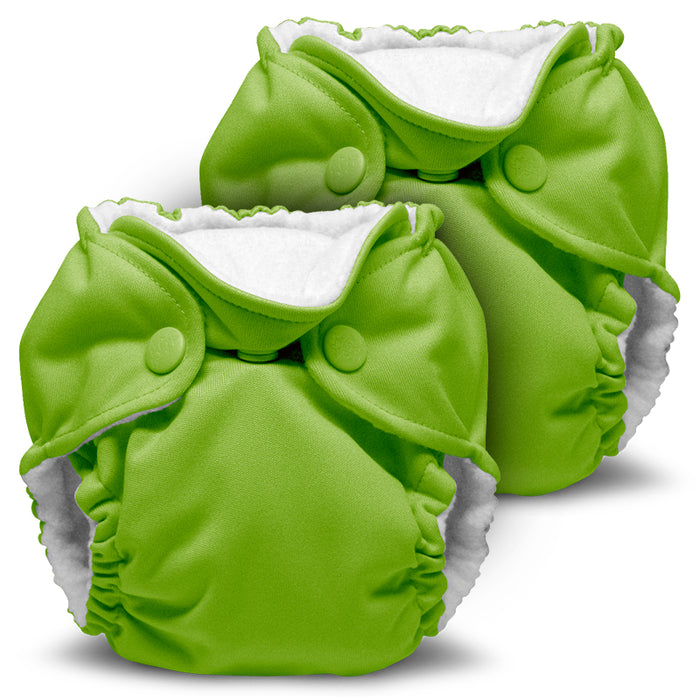 Lil Joey 2 Pack All In One Cloth Diaper, Tadpole