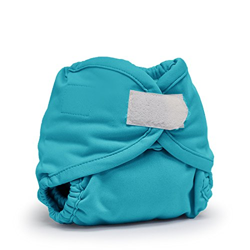 Rumparooz Newborn Cloth Diaper Cover Aplix, Aquarius