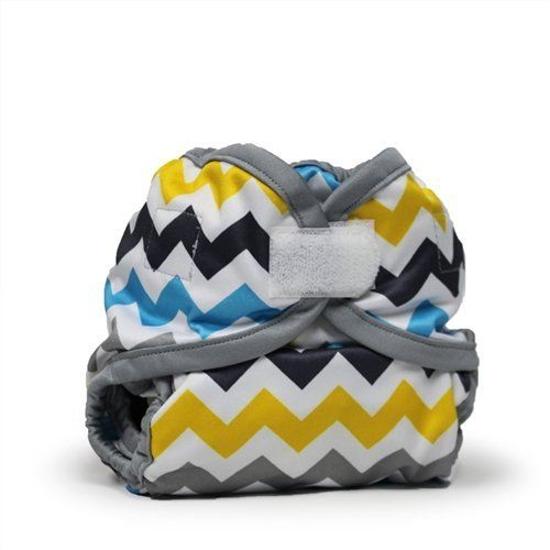Rumparooz Newborn Cloth Diaper Cover Aplix, Charlie