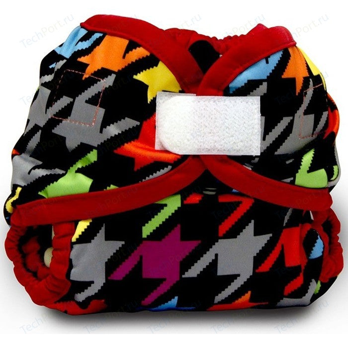 Rumparooz Newborn Cloth Diaper Cover Aplix, Invader