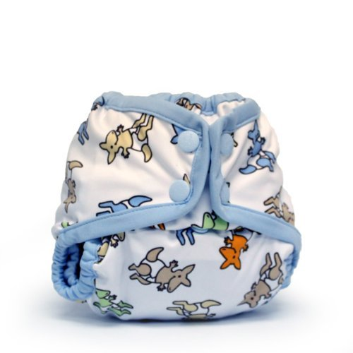 Rumparooz Newborn Cloth Diaper Cover Snap, Kangarooz