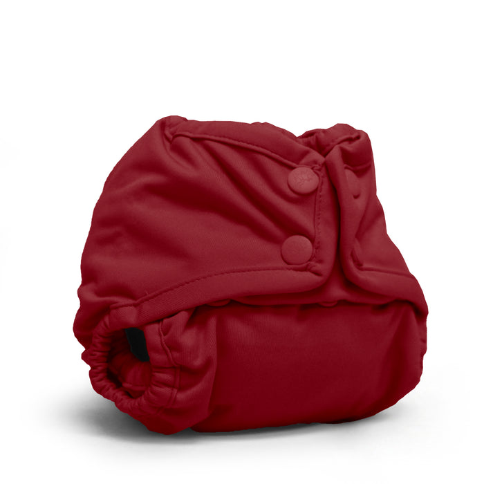 Rumparooz Newborn Cloth Diaper Cover Snap, Scarlet