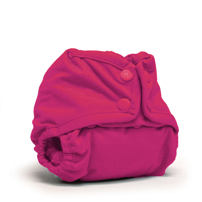 Rumparooz Newborn Cloth Diaper Cover Snap, Sherbert