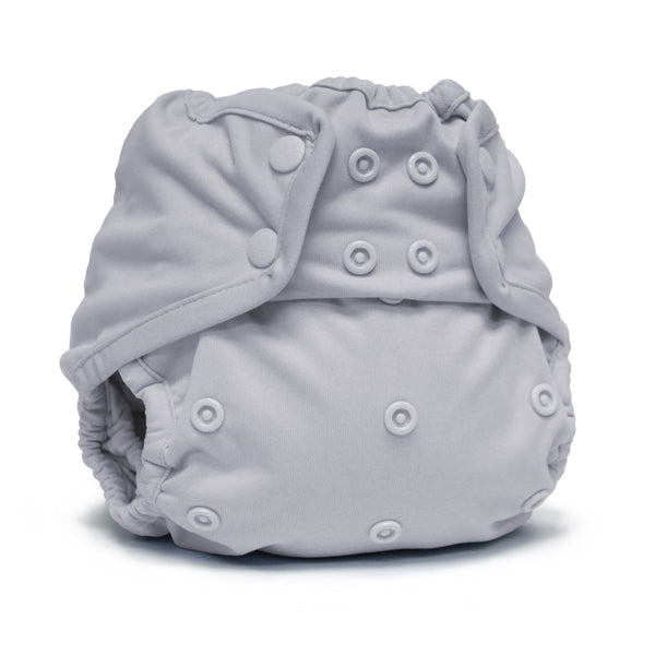 Rumparooz One Size Cloth Diaper Cover Snap, Platinum
