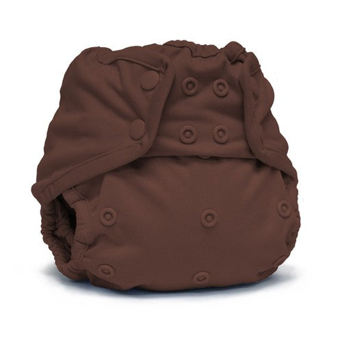 Rumparooz One Size Cloth Diaper Cover Snap, Root Beer